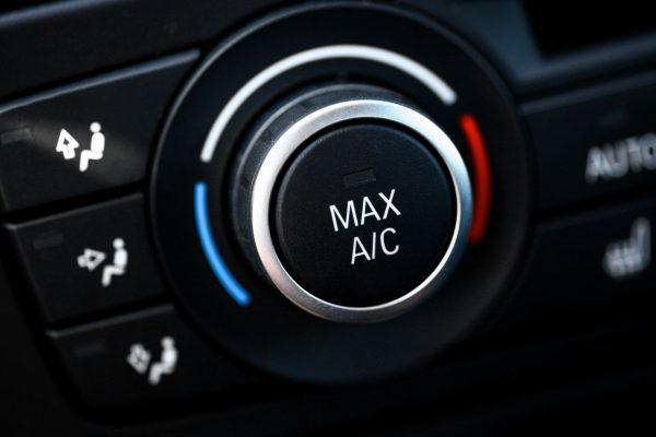 21762577 - color detail with the air conditioning button inside a car